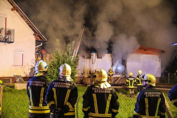 Brand vom 23.05.2018  |  (C) Feuerwehr Hinzenbach (2018)
